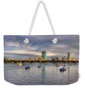 A View Of Back Bay - Boston Skyline Weekender Tote Bag