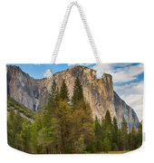 A View Of El Capitan From The Merced River Weekender Tote Bag