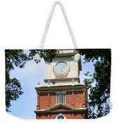 A View Of Independence Hall Weekender Tote Bag