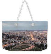 A View Of San Francisco At Twighlight Weekender Tote Bag
