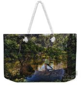 A View Of The Nature Center Merged Image Weekender Tote Bag