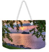 A View To A Sunset Weekender Tote Bag