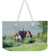 A Villa At Trouville Weekender Tote Bag by Gustave Caillebotte