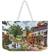 A Village In Summer Weekender Tote Bag