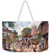 A Village Wedding Weekender Tote Bag
