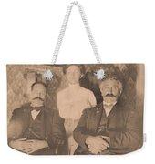 A Vintage Photo Of People Weekender Tote Bag