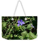 A Violet Weekender Tote Bag