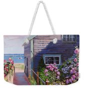 A Visit To P Town Two Weekender Tote Bag by Laura Lee Zanghetti