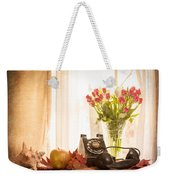 A Voice From The Past Weekender Tote Bag