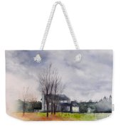 A Voice Of Winter Weekender Tote Bag