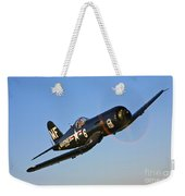 A Vought F4u-5n Corsair Aircraft Weekender Tote Bag