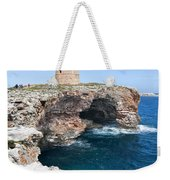 Xviii Defensive Tower In Alcafar Minorca - A Walk About Cliffs Weekender Tote Bag