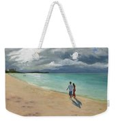 A Walk At Tumon Bay Guam Weekender Tote Bag