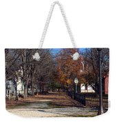 A Walk Down History Lane Weekender Tote Bag