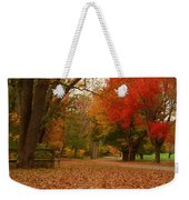 A Walk In Autumn - Holmdel Park Weekender Tote Bag