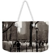 A Walk In Central Park - Antique Appeal Weekender Tote Bag