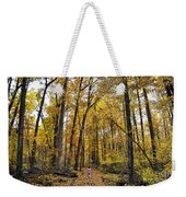 A Walk In The Dune Land Forest Weekender Tote Bag