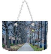 A Walk On A Sidewalk Street Alley Weekender Tote Bag