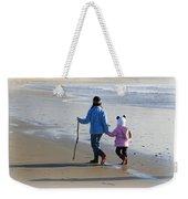 A Walk On The Beach Weekender Tote Bag