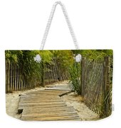 A Walk To The Beach Weekender Tote Bag