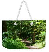 A Walk With God Weekender Tote Bag