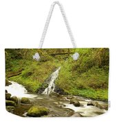 A Waterfall Into Oneida Creek Weekender Tote Bag