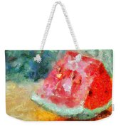 A Watermelon Weekender Tote Bag