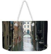 A Waterway Of Venice  Weekender Tote Bag