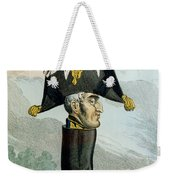 A Wellington Boot Or The Head Weekender Tote Bag