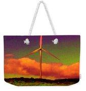 A Western Windmill Weekender Tote Bag