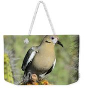 A White Winged Dove  Weekender Tote Bag