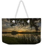 A Window To Sunset Weekender Tote Bag