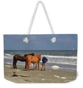 A Windy Day At Hunting Island Beach Weekender Tote Bag