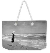 A Winter Day At Miami Beach Weekender Tote Bag