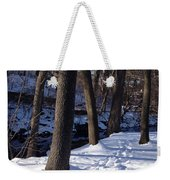 A Winter Day In New York Weekender Tote Bag