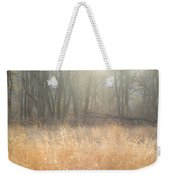A Winter Glow Weekender Tote Bag