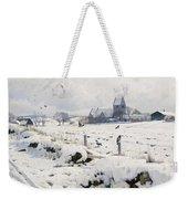 A Winter Landscape Holmstrup Weekender Tote Bag