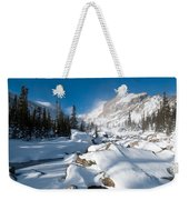 A Winter Morning In The Mountains Weekender Tote Bag by Cascade Colors