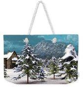 A Winter Scene... Weekender Tote Bag