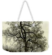 A Winter Touch Weekender Tote Bag