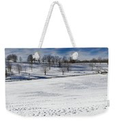 A Winters Day Weekender Tote Bag