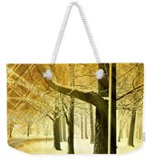 A Winter's Night Weekender Tote Bag by Marty Koch