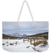 A Winter's Tale Weekender Tote Bag