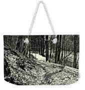 A Winter's Trail Weekender Tote Bag