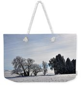 A Wintery Day Weekender Tote Bag