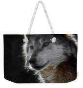 A Wolf 2 Digital Art  Weekender Tote Bag