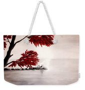 A Wolf's Cry To The Moon Weekender Tote Bag