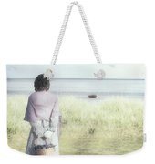 A Woman And The Sea Weekender Tote Bag by Joana Kruse