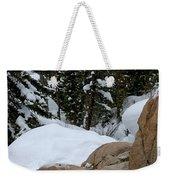 A Woman At A Natural Hot Springs Weekender Tote Bag