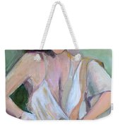 A Woman In Love Weekender Tote Bag